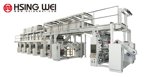 Electronic Line Shaft (ELS) Rotogravure Printing Machine