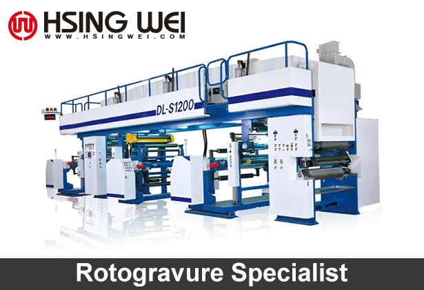 Rotogravure Laminating Machine