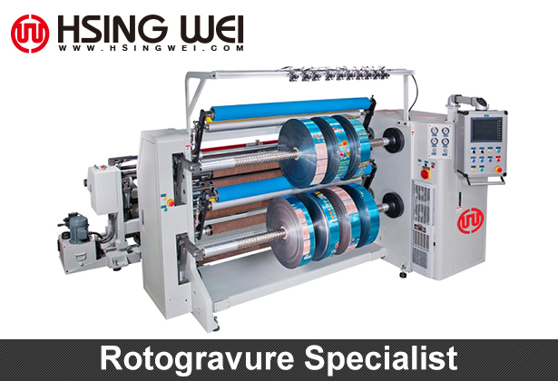 Rotogravure Slitting Machine